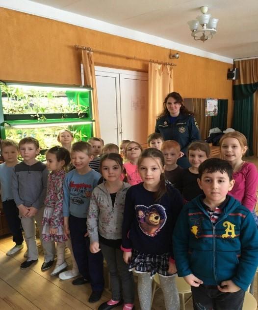 Инструктаж в детском саду № 16 Калининского района