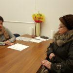 Глава МО Гражданка провела прием граждан