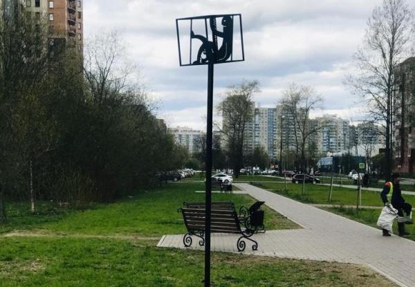 Памятник Самоизоляции на Гражданке