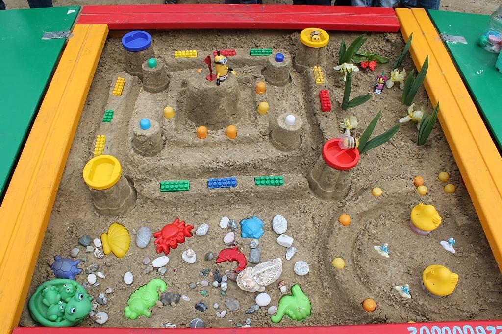 Инвентаризация и завоз песка в песочницы