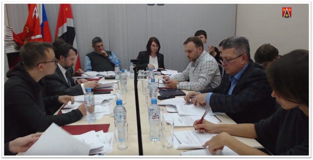 Внеочередное заседание муниципального совета