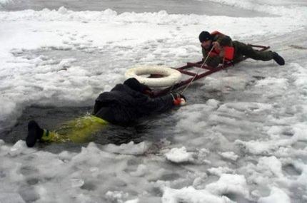Выход на лёд – крайне опасен !