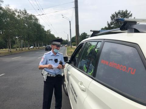 Акция «Безопасность на дороге»